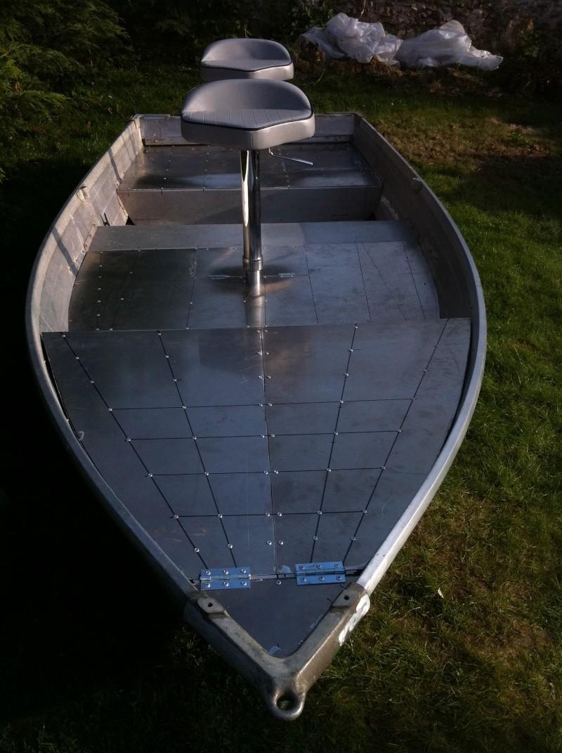 Aménagement barque Alu 01411