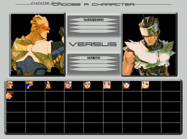 W.I.P Nameless ScreenPack for WinMugen Plus by -Thor Select11