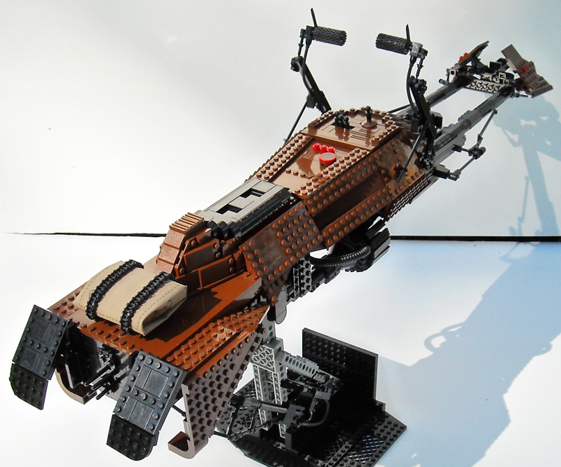 Lego - CUSTOM set, minifig, autres Star Wars Bike0310