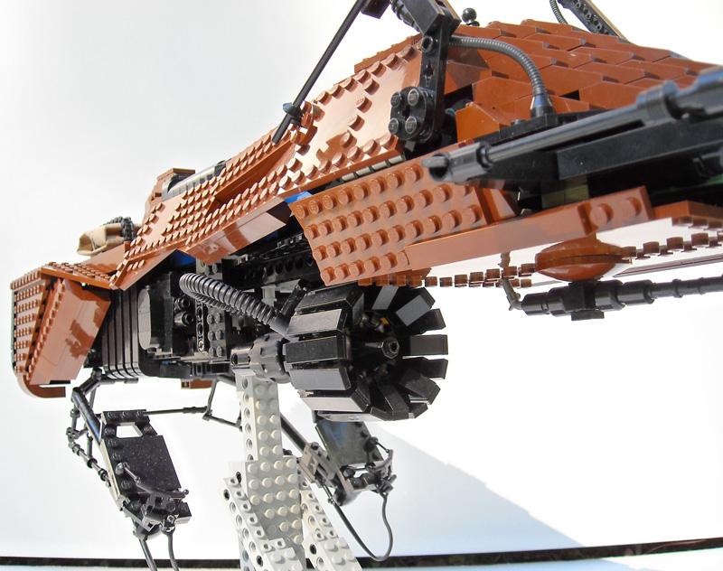 Lego - CUSTOM set, minifig, autres Star Wars Bike0710