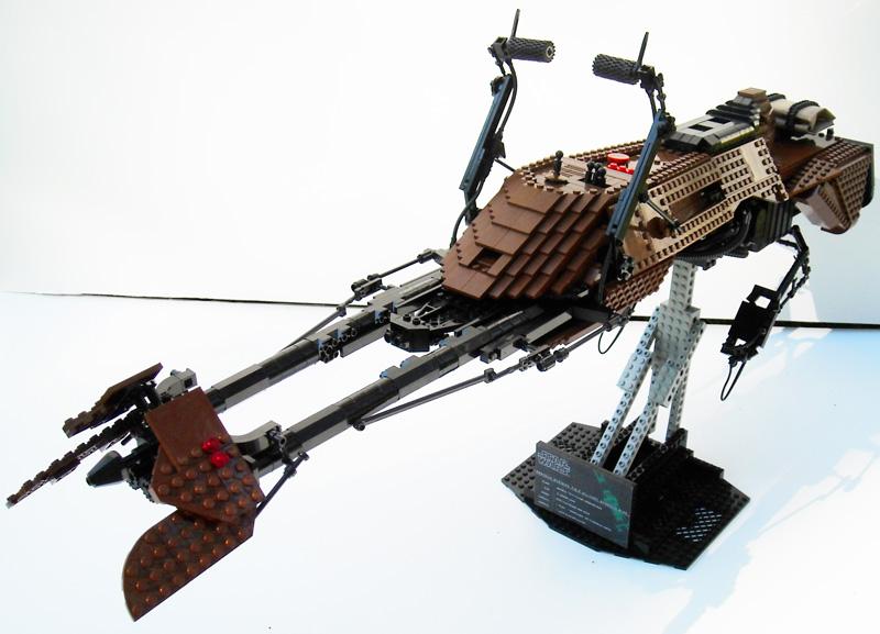 Lego - CUSTOM set, minifig, autres Star Wars Bike0810