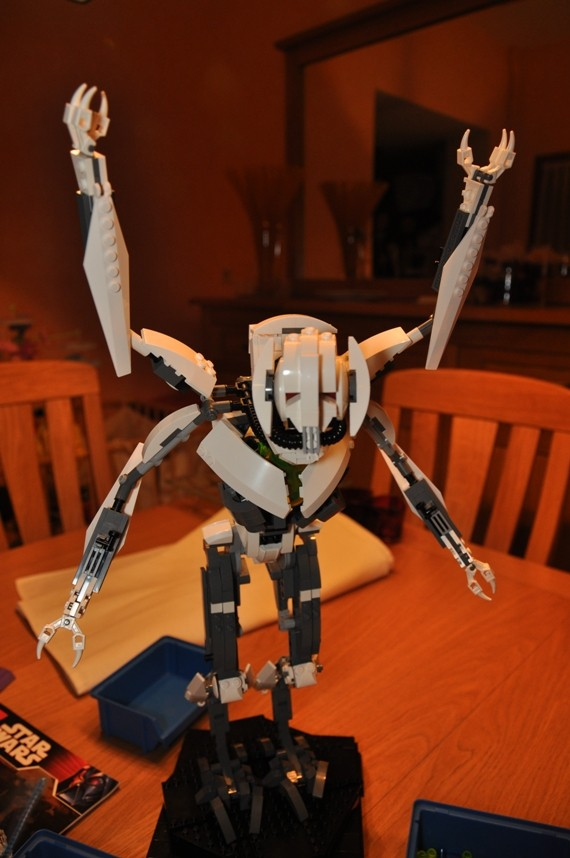 Lego - 10186 - UCS General Grievous Dsc_0147