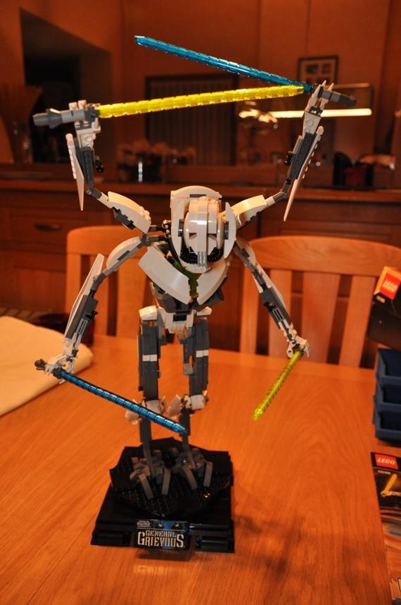 Lego - 10186 - UCS General Grievous Dsc_0150