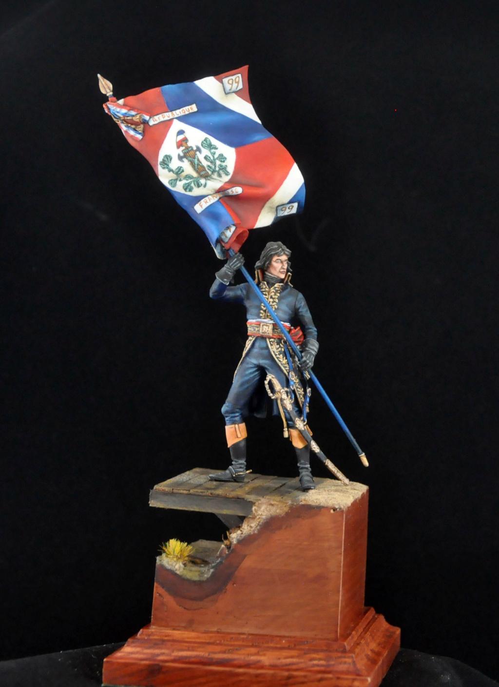 Bonaparte à Arcole- 75 mm Atelier Maket- Photos finales Dsc_0015