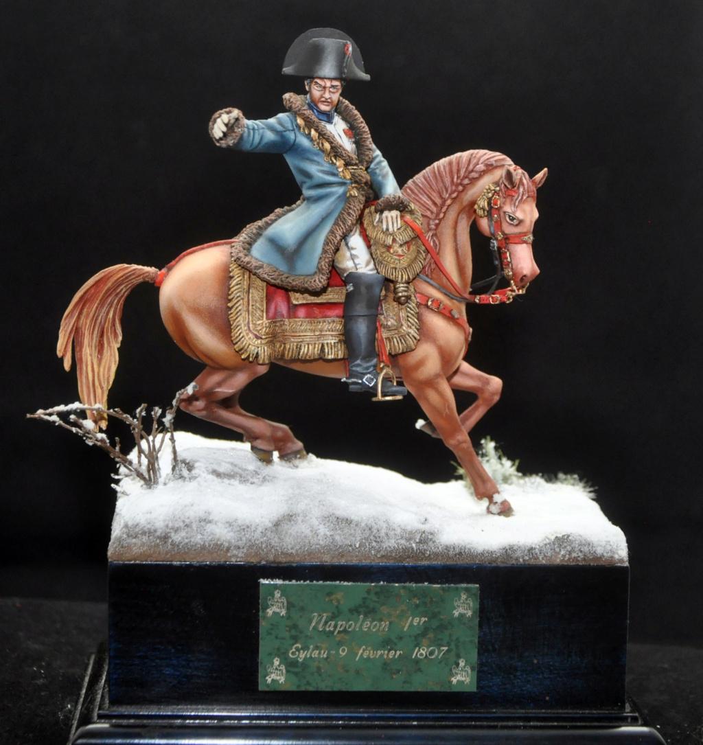 Napoléon à Eylau février 1807. 75 mm Alexandro Models. Dsc_0112