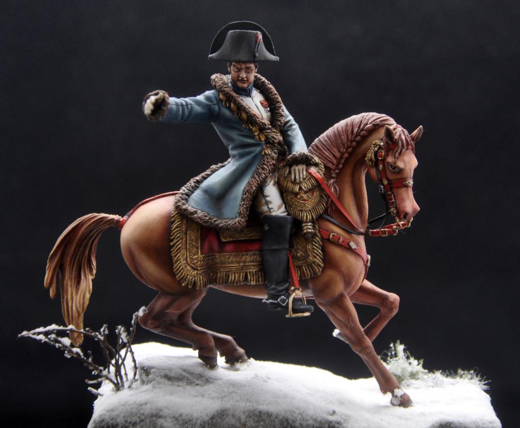 Napoléon à Eylau février 1807. 75 mm Alexandro Models. Dsc_0113