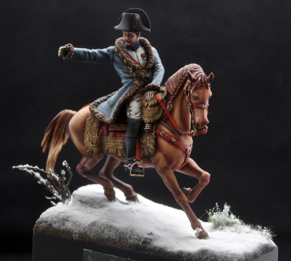 Napoléon à Eylau février 1807. 75 mm Alexandro Models. Dsc_0115