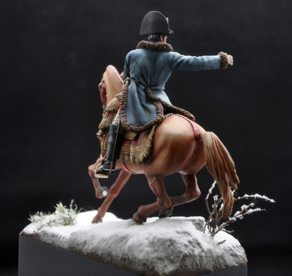 Napoléon à Eylau février 1807. 75 mm Alexandro Models. Dsc_0116