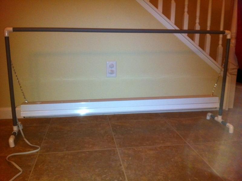 DIY PVC Growlight Stand Photo211