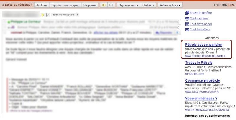 Lien sponsorisé Toreador- Hess Google adclic Click-13