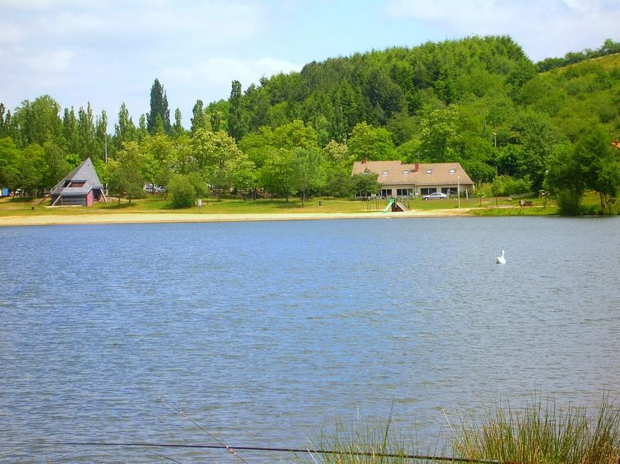 plan d'eau de St Eloy-lès-mines - Auvergne - (63) Dscn1010