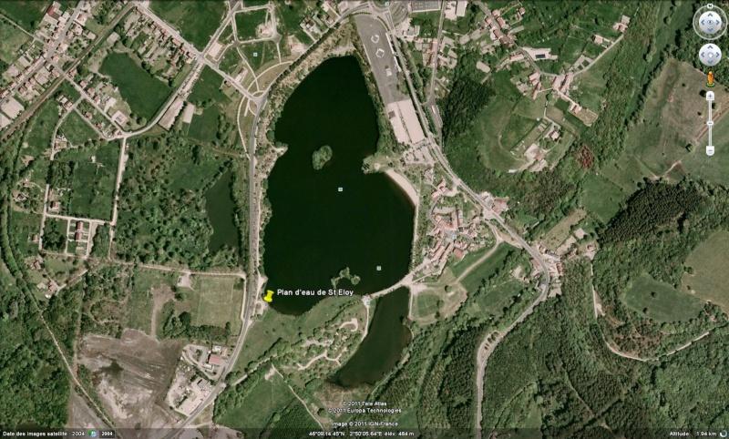 plan d'eau de St Eloy-lès-mines - Auvergne - (63) St_elo10