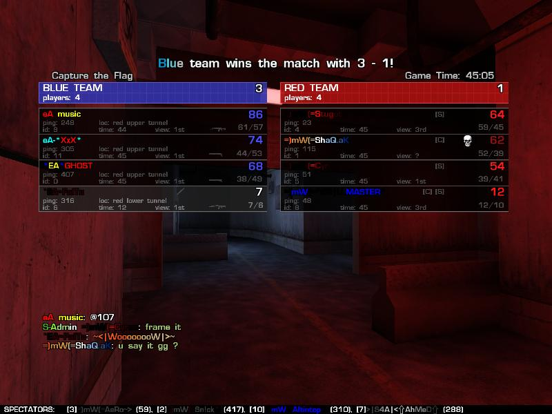 won against mw Won10