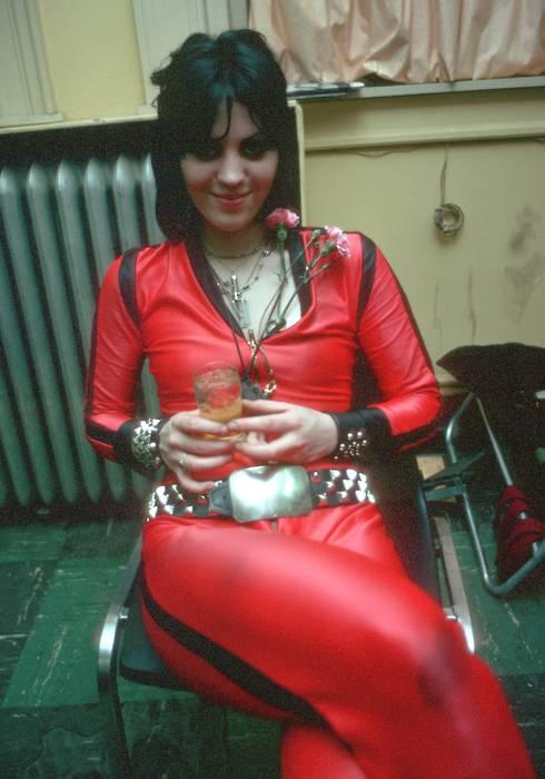 Joan Jett in red Tumblr13