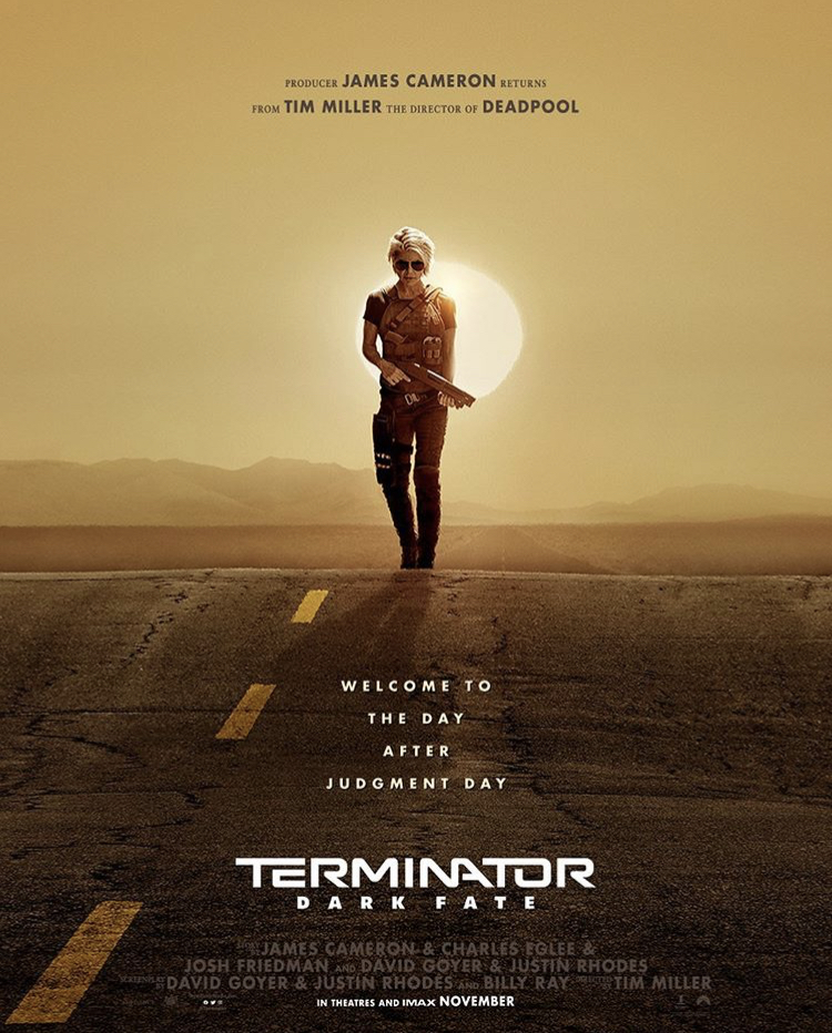 Terminator : Dark Fate (Terminator 6) - Tim Miller & James Cameron - Octobre '19 - Page 5 76f0e610