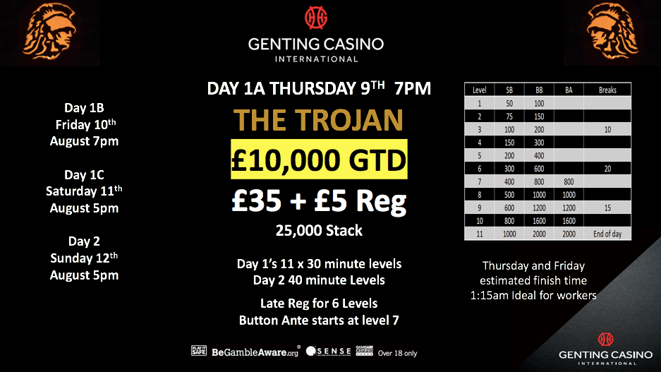 The Trojan - 9th to 12th August 38712110