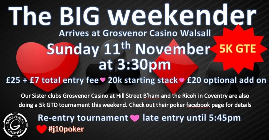 Grosvenor Walsall Big Weekender 11th November 44929210