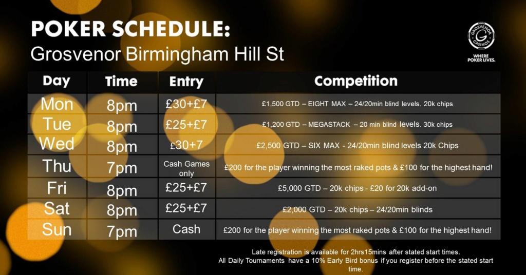 New Schedule at Grosvenor Hill Street 45481110