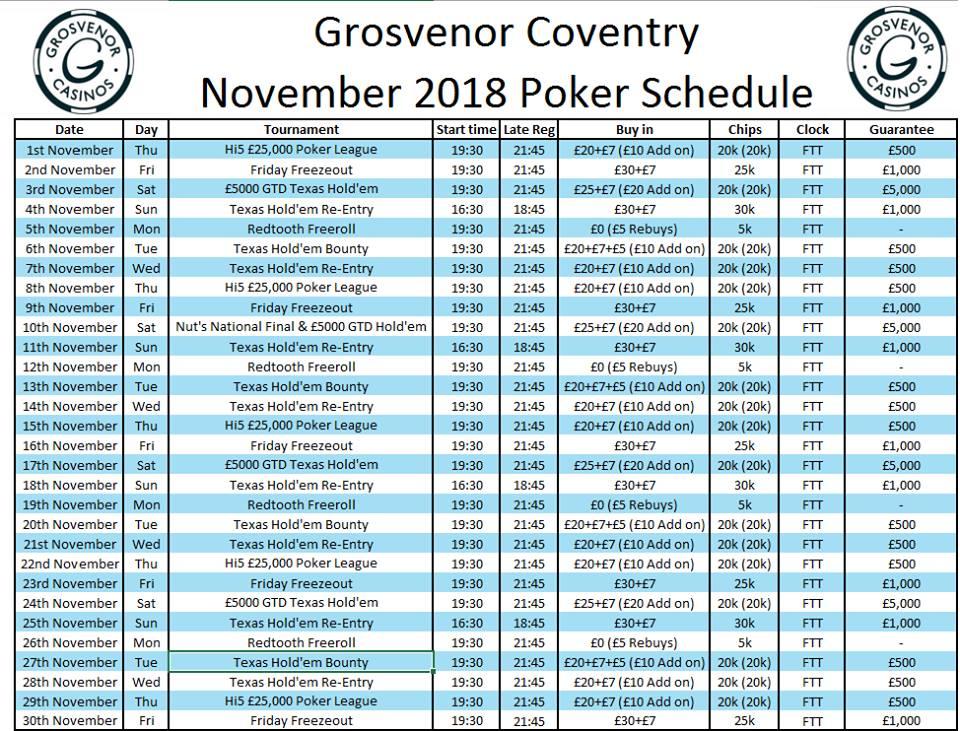 Coventry Grosvenor November Programme G_cov10