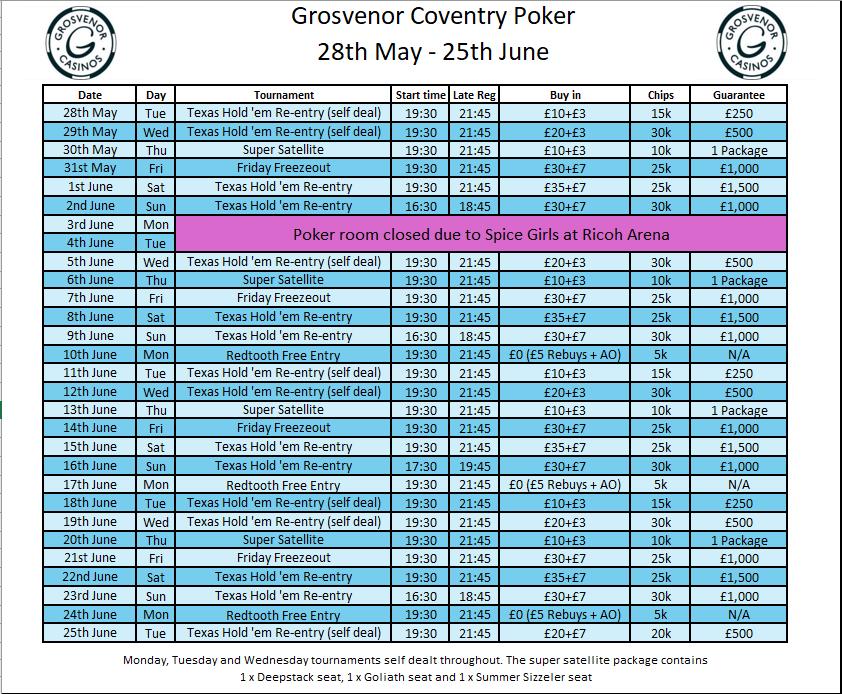 Grosvenor Coventry Schedule to 25th June G_cov12
