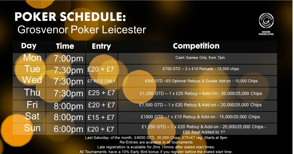 Revised Schedule at Leicester Grosvenor G_leic10