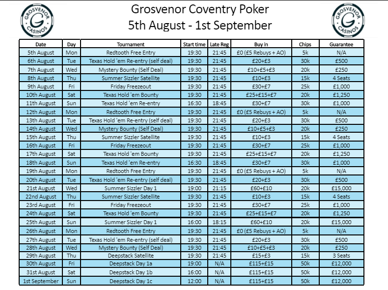 Grosvenor Coventry Schedule to 31st Aug Gcov12
