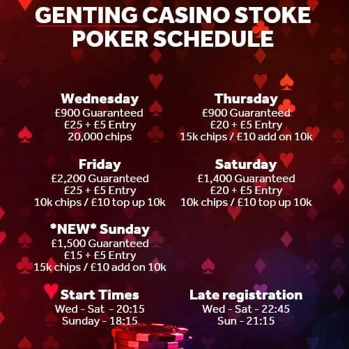 Stoke Genting Schedule from June Gent_s10