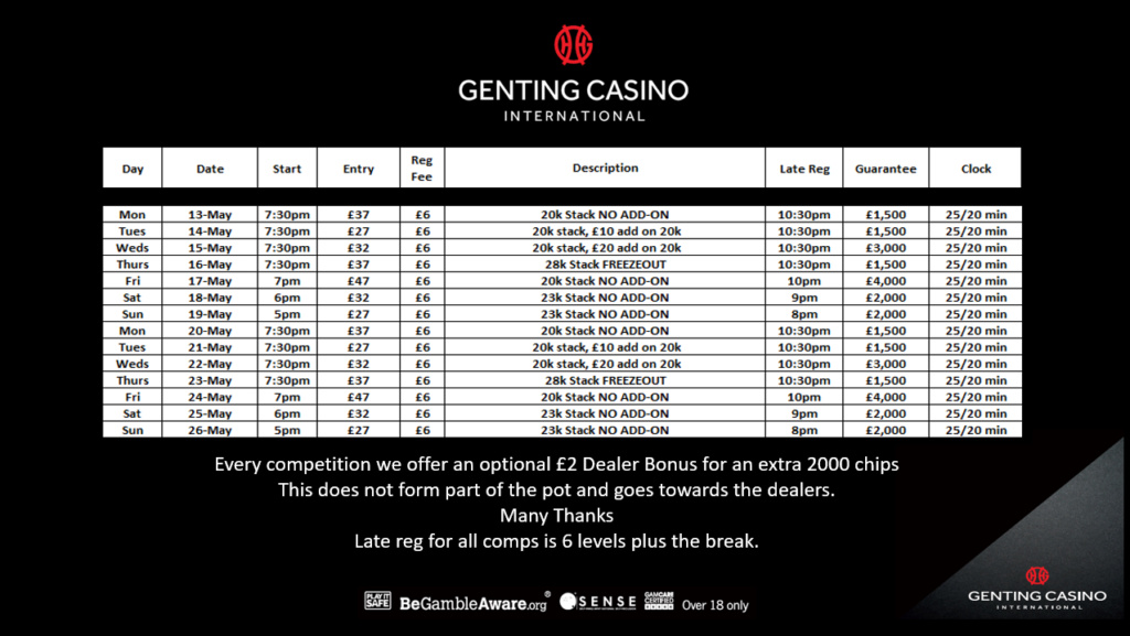 Genting Resortsworld Programme Grw15