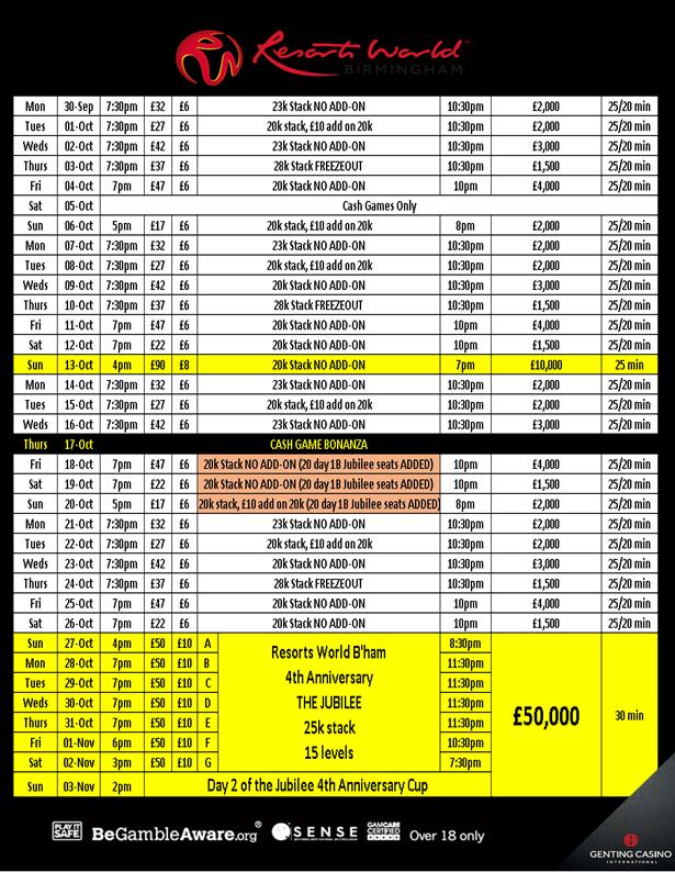 October Schedule at Resortsworld Grw_oc10
