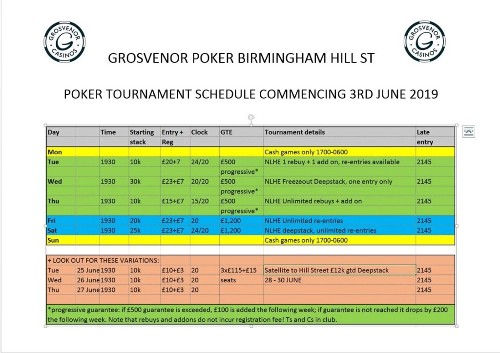 Latest Schedule at Grosvenor Hill St Hill_s13