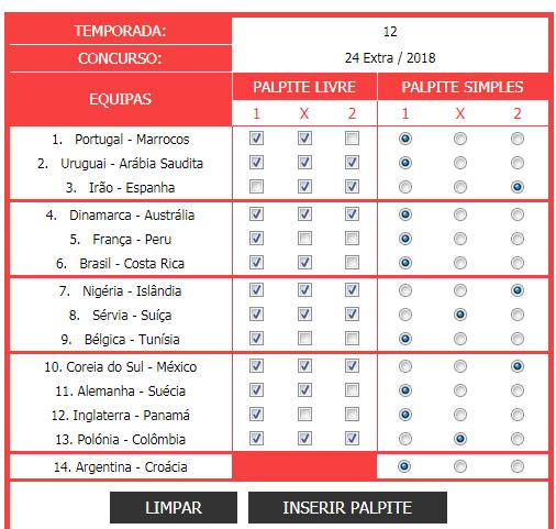 Extra - Totobola - Prognósticos para o concurso 24_Extra/2018 Conc2410