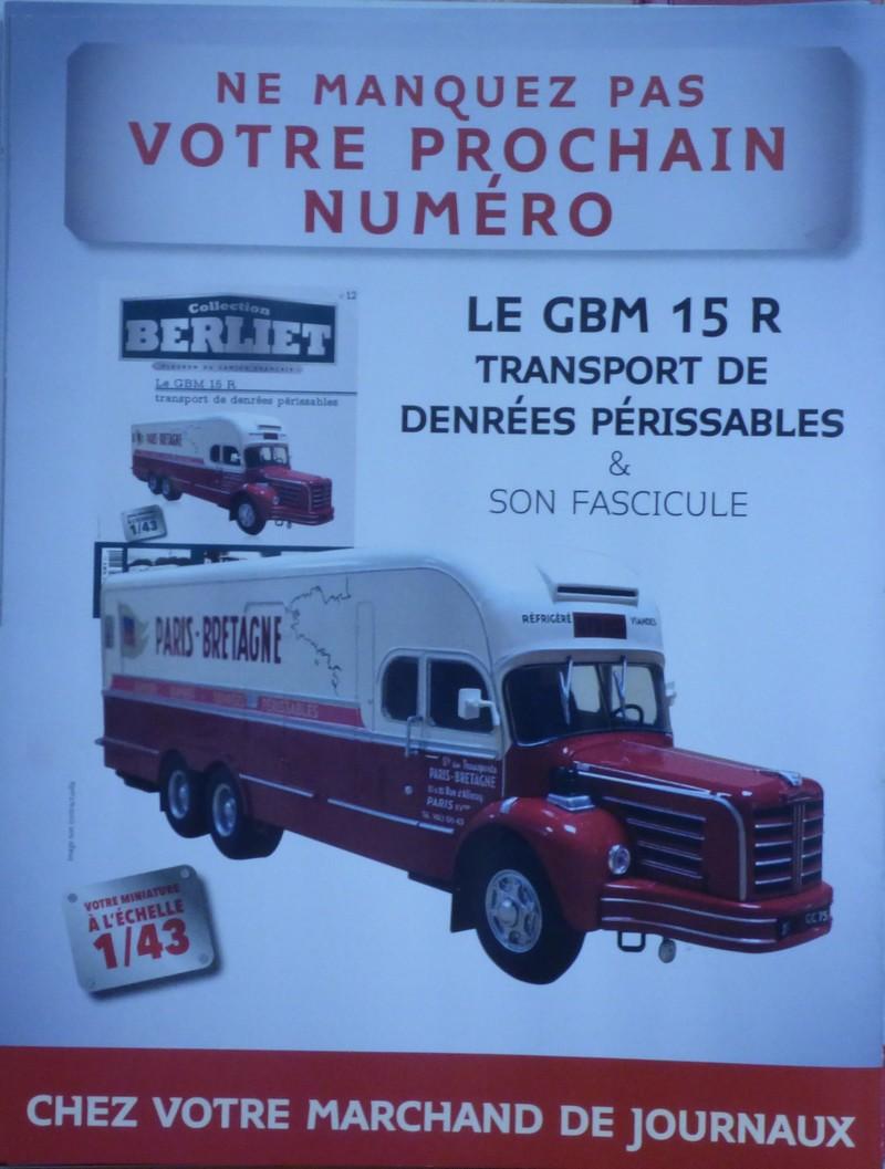 N°12- Berliet GBM 15 R Transport de denrées périssables 1p126017