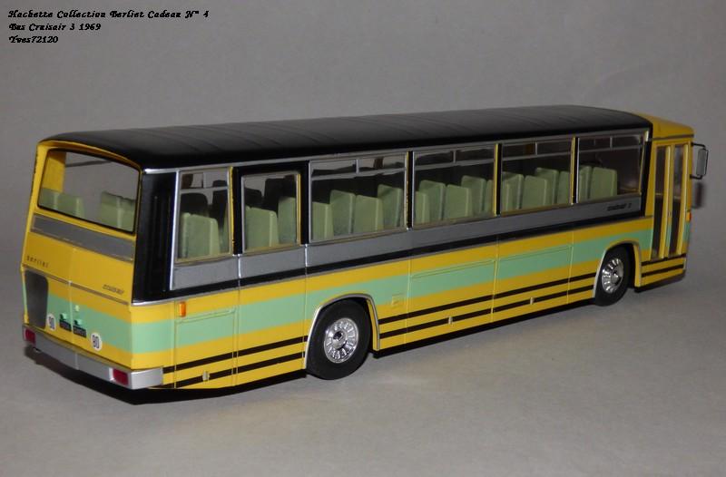 N°00 - cadeau 5 berliet  Cruiser 3 1969 Autobus Hache100