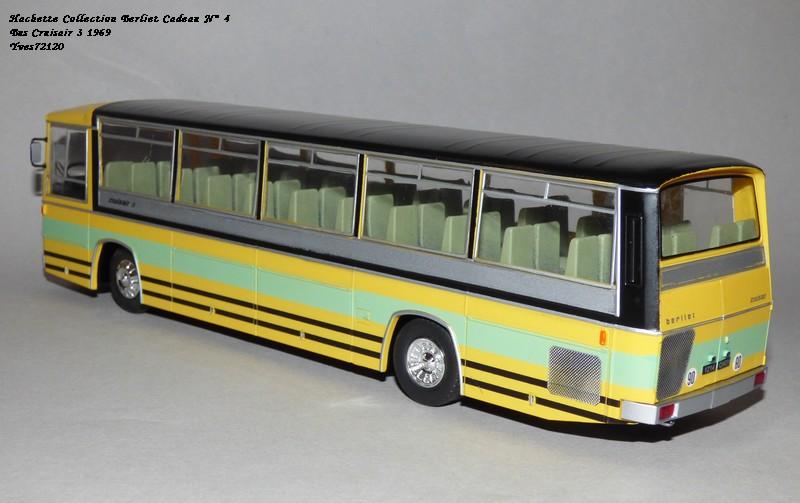 N°00 - cadeau 5 berliet  Cruiser 3 1969 Autobus Hache101