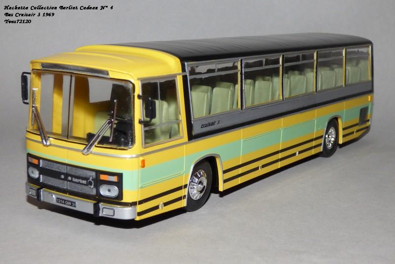N°00 - cadeau 5 berliet  Cruiser 3 1969 Autobus Hache102