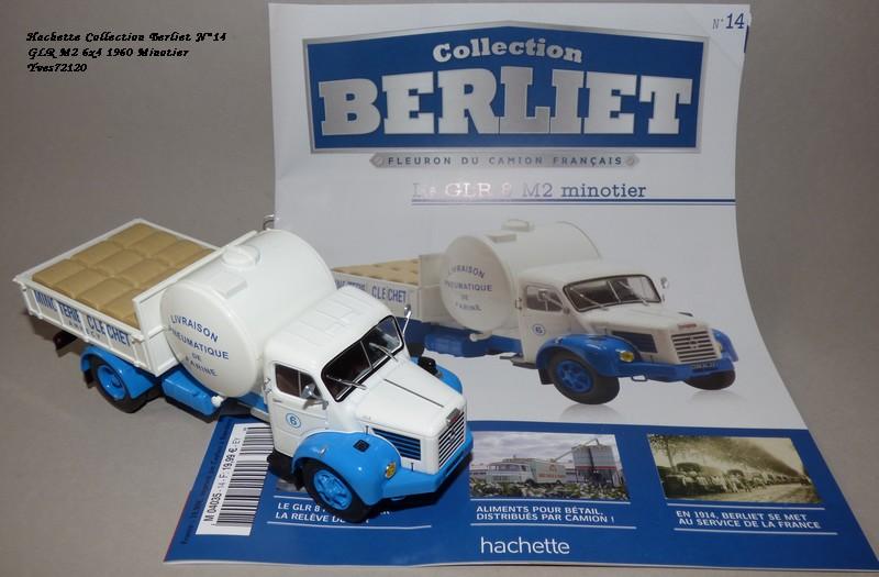 """N°14 - Berliet GLR 8M2 1960  """"Minoterie Clechet""""  Hache107"""