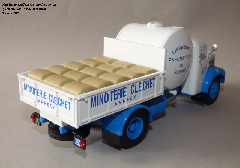 """N°14 - Berliet GLR 8M2 1960  """"Minoterie Clechet""""  Hache109"""