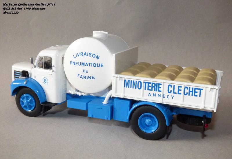 """N°14 - Berliet GLR 8M2 1960  """"Minoterie Clechet""""  Hache110"""
