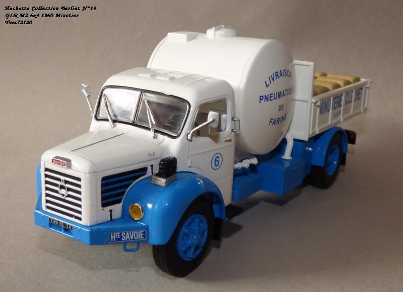 """N°14 - Berliet GLR 8M2 1960  """"Minoterie Clechet""""  Hache111"""