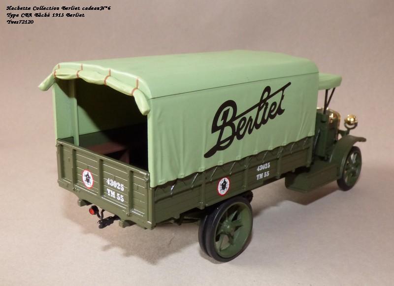 "N°00 - cadeau 4 Berliet Type CBA 1913 bâché  ""Berliet""   Hache124"