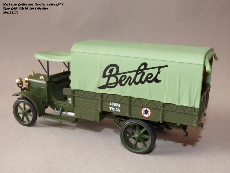 "N°00 - cadeau 4 Berliet Type CBA 1913 bâché  ""Berliet""   Hache125"
