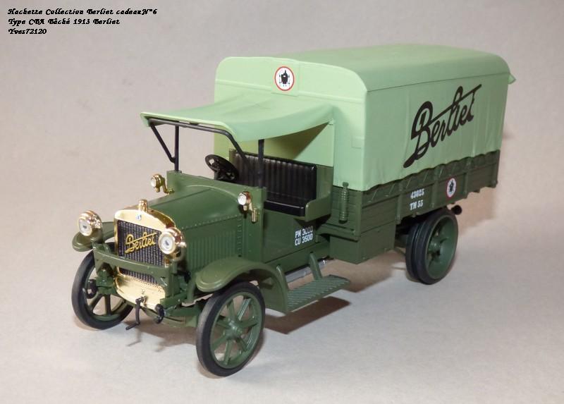 "N°00 - cadeau 4 Berliet Type CBA 1913 bâché  ""Berliet""   Hache126"