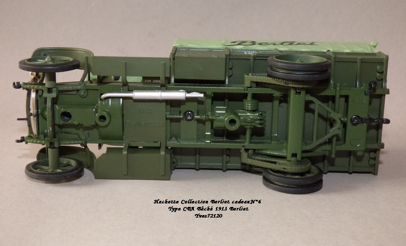 "N°00 - cadeau 4 Berliet Type CBA 1913 bâché  ""Berliet""   Hache127"
