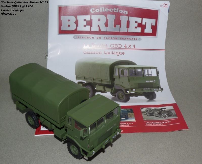 N°21- Berliet GBD 4X4 Camion tactique Militaire 1974 Hache139
