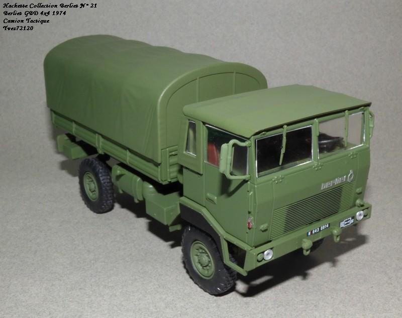 N°21- Berliet GBD 4X4 Camion tactique Militaire 1974 Hache140
