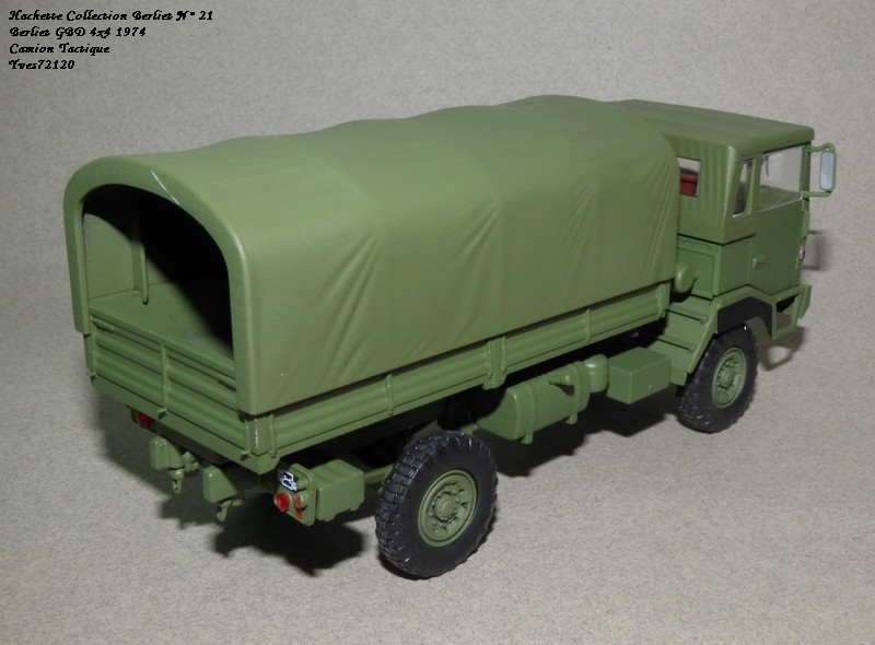 N°21- Berliet GBD 4X4 Camion tactique Militaire 1974 Hache141