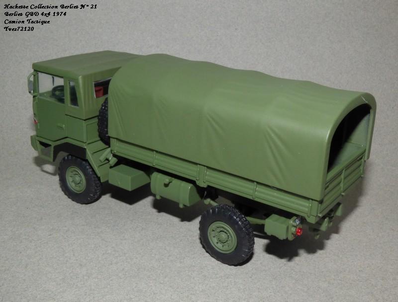 N°21- Berliet GBD 4X4 Camion tactique Militaire 1974 Hache142