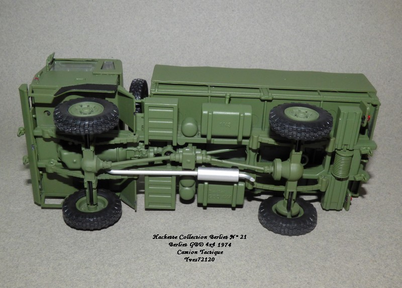 N°21- Berliet GBD 4X4 Camion tactique Militaire 1974 Hache144