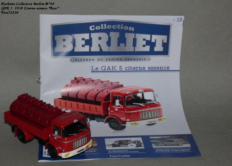 N°18 Berliet  GAK 5 Citerne essence  Hache145