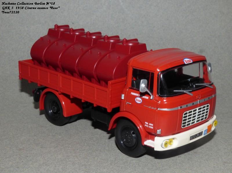 N°18 Berliet  GAK 5 Citerne essence  Hache146